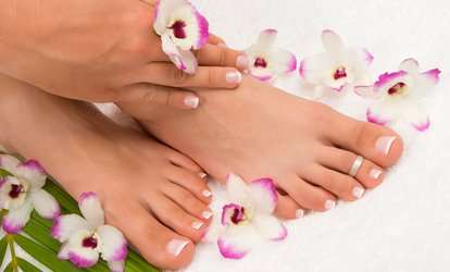 $55 for a Signature Manicure and Signature Pedicure with Hand Paraffin Treatment at Spa Zenaida ($102 Value)