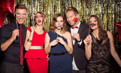 Two-, Three-, or Four-Hour Photobooth Rental from My Events and Celebrations (Up to 89% Off)