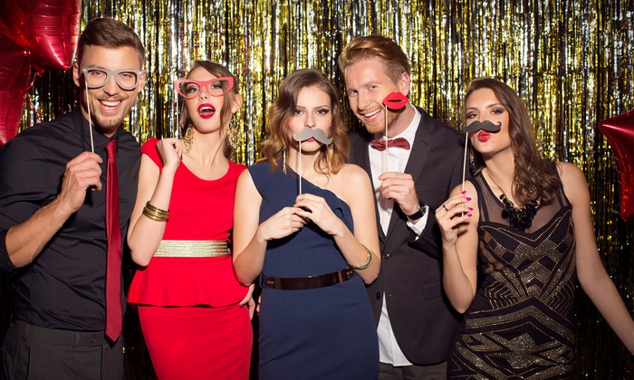 Fancy Flash Photo Booth, LLC - Detroit: Three or Four Hour Photo Booth Rental with Props & Unlimited Prints from Fancy Flash Photo Booth, LLC (44% Off)
