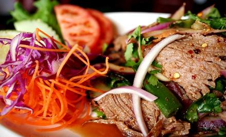 $10 for $20 Worth of Thai Dinner at Royal Thai Cuisine in Chesapeake