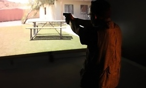 Blue Ridge Arsenal: 30-Minute Firearm-Simulator Session for One, Two, Three, or Four at Blue Ridge Arsenal (56% Off)