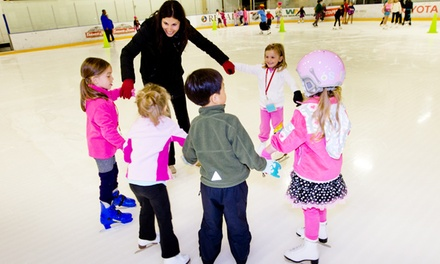 $37 for Four Beginners Ice-Skating or Hockey Classes at Toyota Sports Center ($71 Value)