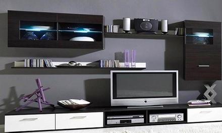 Conjunto de móveis de sala disponível nos modelos Delta e Gamma desde 399€