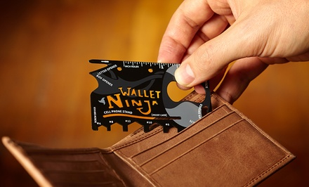 Wallet Ninja 18-in-1 Multitool