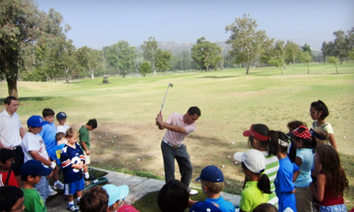 Fore Kids Golf Academy at Brookside Golf Club - North Arroyo: $99 for Four Kids' Saturday Golf-Camp Sessions at Fore Kids Golf Academy at Brookside Golf Club in Pasadena ($275 Value)