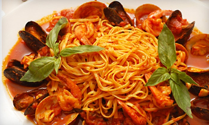 Villa Isabella of Forest Hills - Forest Hills: $39 for Italian Dinner with Appetizer, Entrees, and Desserts for Two at Villa Isabella of Forest Hills