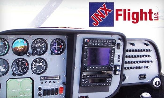 JNX Flight LLC - Smithfield: $75 for Introductory Flight Package and Hat from JNX Flight LLC ($129 Value)