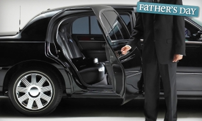 Mellow Ride Limousine - Multiple Locations: $40 for Hourly Limousine Services or Ride to or from Airport from Mellow Ride Limousine (Up to $100 Value)