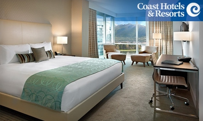 Coast Coal Harbour Hotel - Downtown Vancouver: $129 for a Superior Room, Parking, and a $25 Food Voucher at Coast Coal Harbour Hotel ($312 Value)