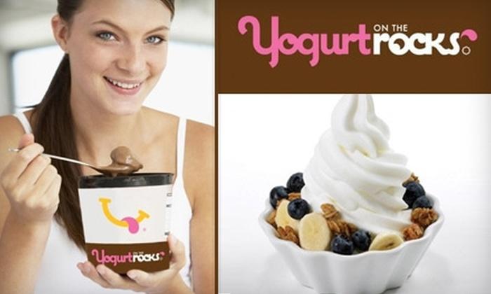 Yogurt on the Rocks - Pacific Beach: $4 for $10 Worth of Frozen Yogurt at Yogurt on the Rocks