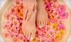 Spoil Me - Mountain View: $90 for Three Mani-Pedis at Spoil Me Spa & Salon in Mountain View ($210 Value)