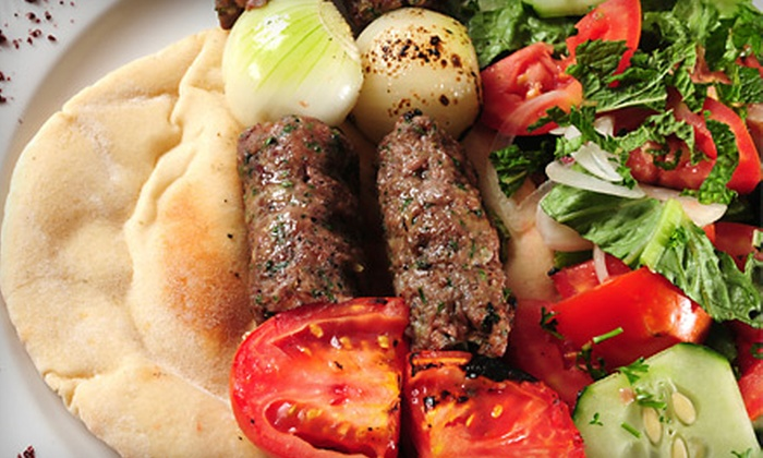 Olive Cafe - Downtown: Mediterranean Dinner with Appetizer and Entrees for Two or $10 for $20 Worth of Lunch Fare at Olive Cafe