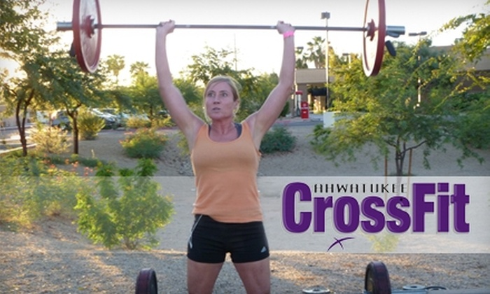 Ahwatukee CrossFit - Mountain Park Ranch: $55 for One Month of Unlimited CrossFit Classes at Ahwatukee CrossFit ($135 Value)