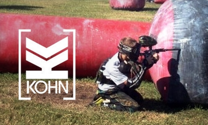 Köhn Sports Paintball Park - Tampa Bay Area: $25 for Paintball Package at Köhn Sports Paintball Park in Wimauma