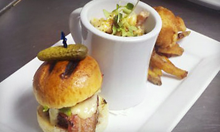 1Republik - Hoboken: Upscale Pub Fare for Two or Four at 1Republik Bar in Hoboken (Up to 56% Off)