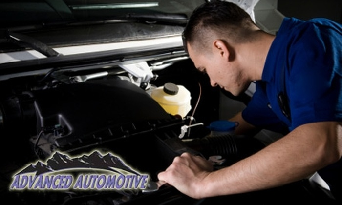 Advanced Automotive - East Old Golden Rd: $20 for a Full-Service Oil Change and Inspection at Advanced Automotive in Golden