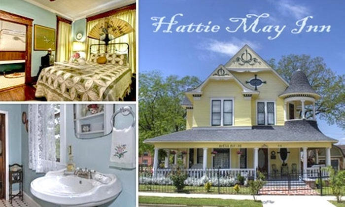 Hattie May Inn - Fort Worth: $79 for a Romantic One-Night Stay for Two with Romance Package at Hattie May Inn