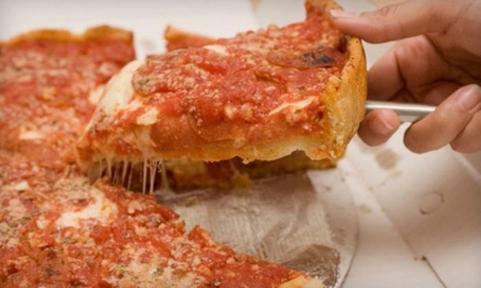 Gramboli's Pizza - Central Indianapolis: $10 for $20 Worth of Pizzeria Fare and Drinks at Gramboli's Pizza