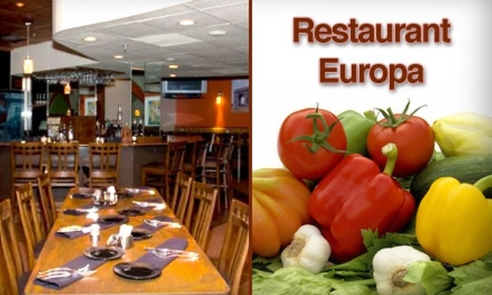 Restaurant Europa - Pepper Pike: $15 for $30 Worth of Russian-Influenced Cuisine at Restaurant Europa