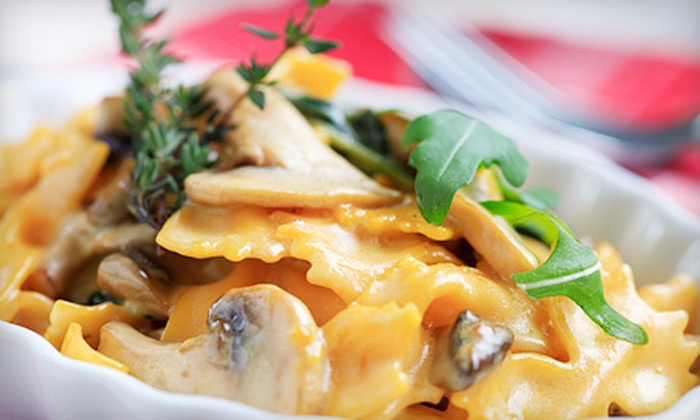 Marotta's Bar-Risto - Downtown Schenectady: Italian Dinner for Two or Four with Entrees, Apps, and Drinks at Marotta's Bar-Risto in Schenectady (Up to 56% Off)