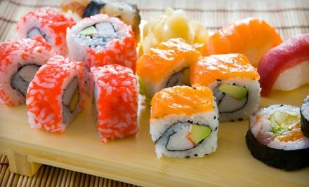 $30 Groupon to Tangerine Fusion and Sushi Bar - Tangerine Fusion and Sushi Bar in Savannah
