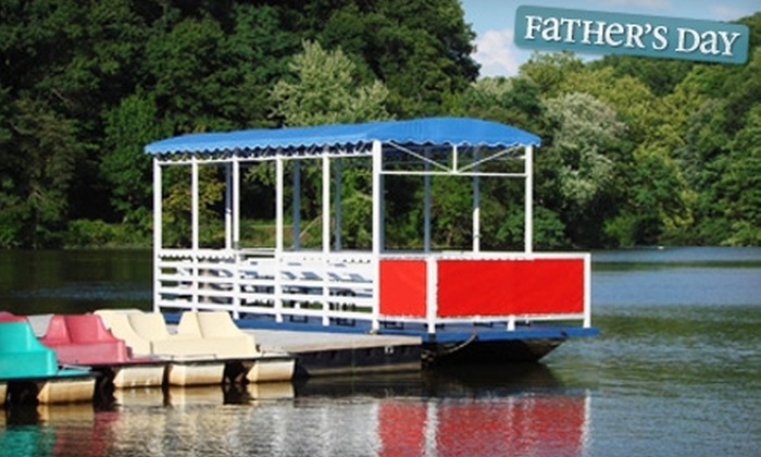Mill Creek MetroParks - Schenley: $7 for a Chartered Boat Rental on Lake Glacier from Mill Creek MetroParks ($15 Value)