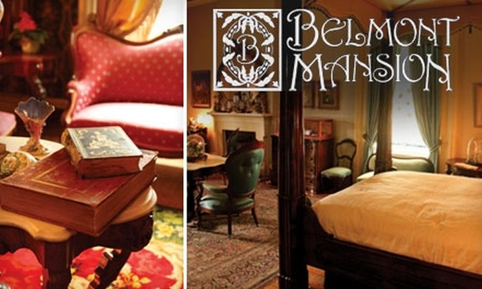 Belmont Mansion - Bellmont/Hillsboro: $49 for a One-Year Patron-Level Membership and Director-Led Tour for Five People at Belmont Mansion ($125 Value)