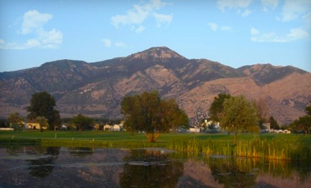 18 Holes of Golf with Cart Rental for 2 - Ben Lomond Golf Course in Ogden