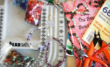 Intro to Beading Class (a $20 value) - Bunches of Beads in Lodi