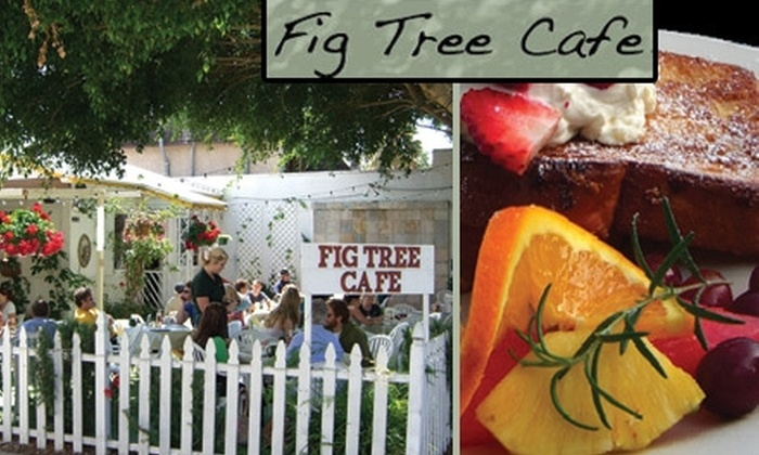 Fig Tree Café - Pacific Beach: $9 for $20 Worth of Breakfast, Lunch, and Fresh Delights at Fig Tree Café