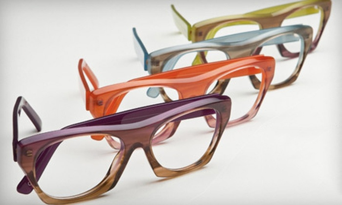 SEE Eyewear - Bach: $75 for $200 Worth of Prescription Eyeglasses or Sunglasses and a Comprehensive Eye Exam at SEE Eyewear ($259 Value)