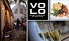 Volo Restaurant - Roscoe Village: $20 for $40 Worth of Small Plates and Wine Flights at Volo Restaurant Wine Bar