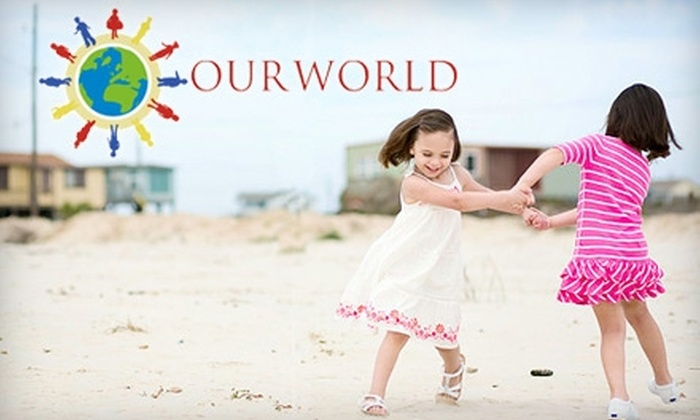 Our World Contemporary Children's Photography - Katy: $89 for On-Location Photo Shoot and Mini Digital-Photo Package from Our World Contemporary Children's Photography ($750 Value)