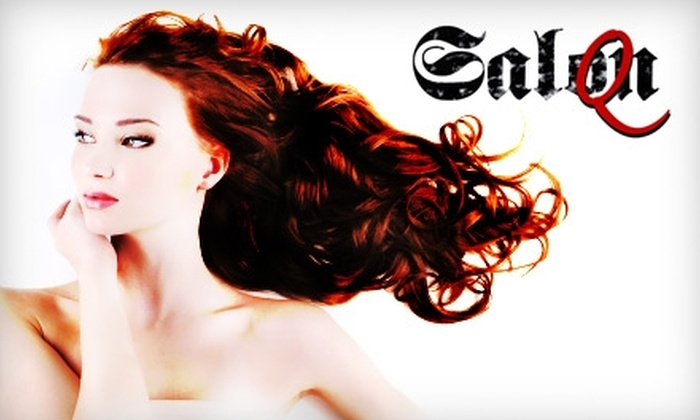 Salon Q - Old Town: $29 Haircut and Coloring Service at Salon Q (Up to $125 Value)