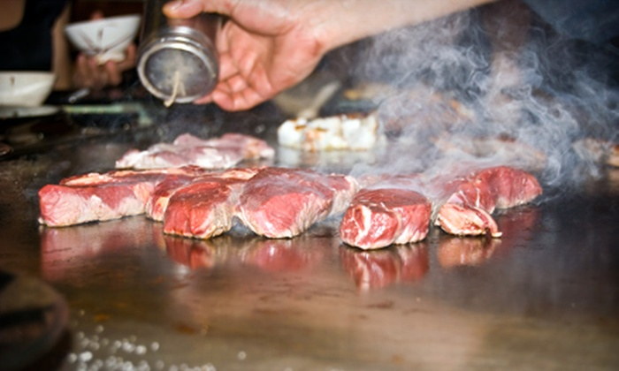 Pacific spice - Acworth: Hibachi Dinner for Four or Six or $19 for $40 Worth of Asian Fare at Pacific Spice in Acworth