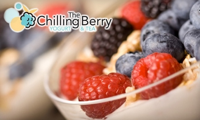 The Chilling Berry - Bakersfield: $5 For $10 Worth of Yogurt, Tea, Fruit, and More at The Chilling Berry