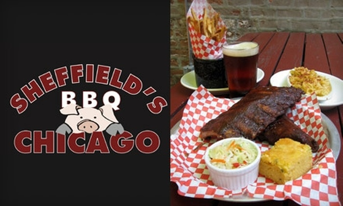 Sheffield's - Multiple Locations: $15 for $30 Worth of Barbecue, Beer, and More at Sheffield's