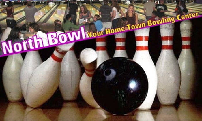 North Bowl - Emerson Garfield: $7 for Two Games of Bowling, Rental Shoes, and a Beverage at North Bowl (Up to $18.75 Value)