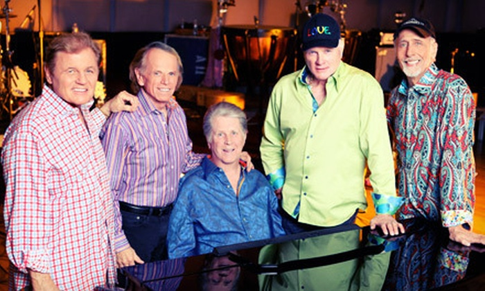 The Beach Boys 50th Anniversary Tour - Cynthia Woods Mitchell Pavilion: Two Lawn Tickets to See The Beach Boys 50th Anniversary Tour in The Woodlands on June 8 at 8 p.m. (Up to $44.30 Value)