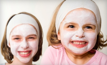 Kids' Nails-and-Face Package (a $51.80 total value) - Tutu Girls Boutik & Kids Spa in Amherst