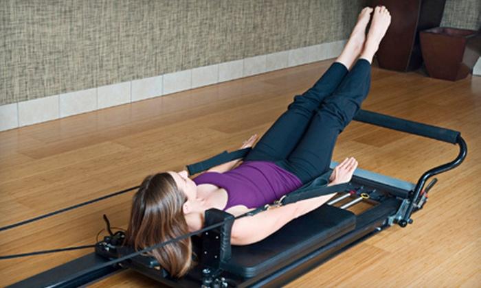 Get A Grip Pilates and Massage - Bellevue: Three or Six Pilates Classes at Get A Grip Pilates and Massage in Bellevue