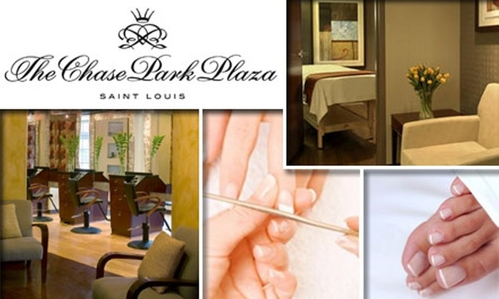 Salon & Spa at The Chase Park Plaza - Central West End: $32 for Spa Manicure and Pedicure from Salon & Spa at The Chase Park Plaza ($70 Value)