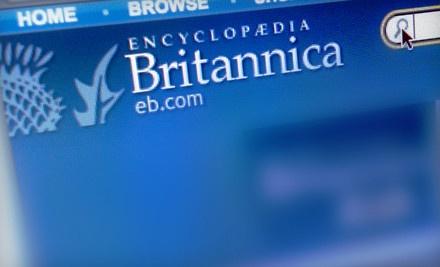 1-Year Membership to Britannica Online Premium (a $70 value) - Encyclopaedia Britannica in