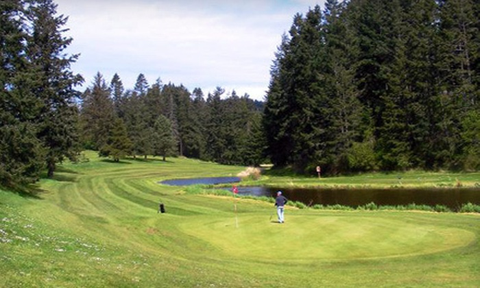 Orcas Island Golf Course - Orcas: 18 Holes of Golf with Range Balls for Two or Four at Orcas Island Golf Course in Eastsound (Up to 74% Off)