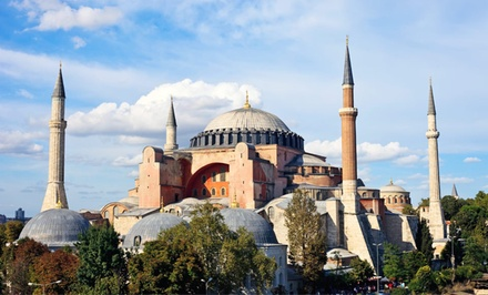 8-Day, 7-Night Guided Tour of Turkey Good for 1 Person Traveling with a Friend, Departing May 24  - Tour of Istanbul and Aegean Coast with Airfare in