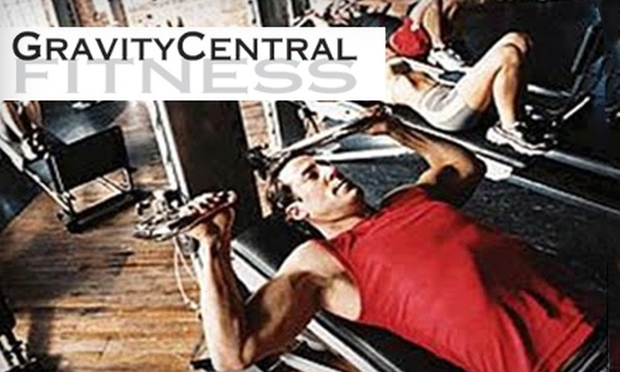 Gravity Central Fitness - Newington: $30 for Four Semiprivate Pilates or Gravity Strength Classes from Gravity Central Fitness