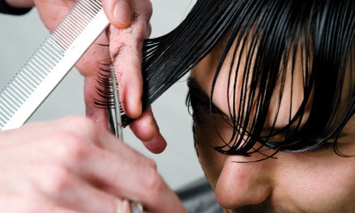 Cutters & Co - Central West End: $99 for 12 Men's-Haircut Packages with a Scalp Massage and Shampoo at Cutters & Co ($264 Value)