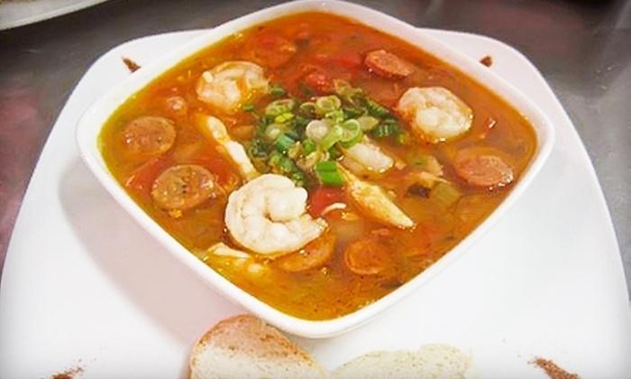 Voocaray Cajun Cuisine and Bar - Gulf Gate: $10 for $20 Worth of Cajun Fare and Drinks at Voocaray Cajun Cuisine and Bar in Sarasota