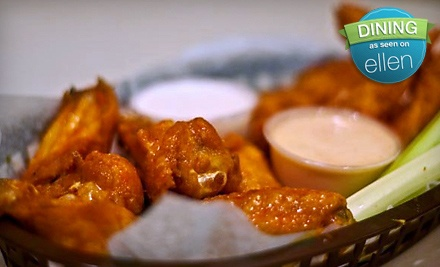 Dinner for 2 (up to a $43.97 total value) - Fingers Wings & Other Things in Conshohocken