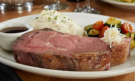 Steak and Seafood Dinner at Horatio's (Up to 30% Off)